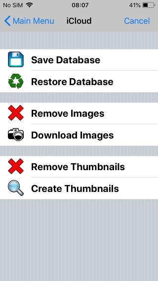 Dropbox/iCloud